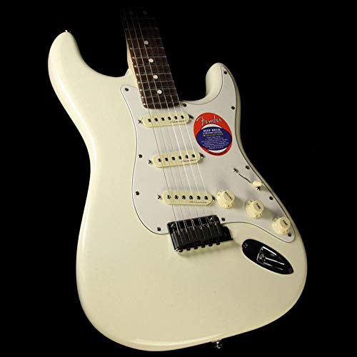 (Fender Jeff Beck Stratocaster Electric Guitar, Rosewood Fingerboard - Olympic White)