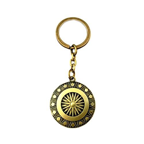 Wonder Woman Keychain Key Ring DC Comics Movies Auto/Boat House Keys