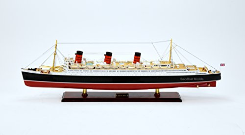 RMS Queen Mary Cunard Line Ocean Liner Handmade Ship Model 40