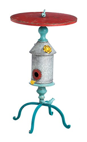 Cheap Cape Craftsmen Distressted Birdhouse Casti Iron Patio Table