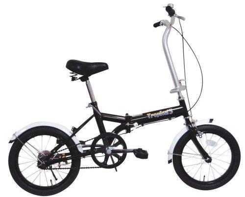 ミムゴ 16インチ折畳み自転車 トロピカルファイブ(ブラック) MG-OEM16-BK B0018P6DMK
