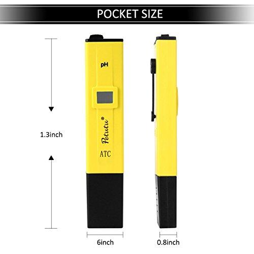 Digital PH Test Pen, PH Meter Water Tester, 0-14.0 pH Range, 0.1 pH Accuracy by Petutu (Image #1)