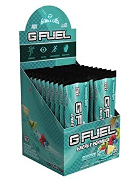 G Fuel Tropical Rain Stick Pack Box (20 Servings) Elite Energy and Endurance Formula