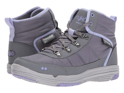 Ryka(ライカ) レディース 女性用 シューズ 靴 ブーツ スノーブーツ Adella - Slate Grey/Amythyst/Scone Grey 7 B - Medium [並行輸入品]