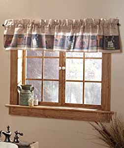 Simplify bath collection window valance country style home decor home kitchen Home decorators collection valance