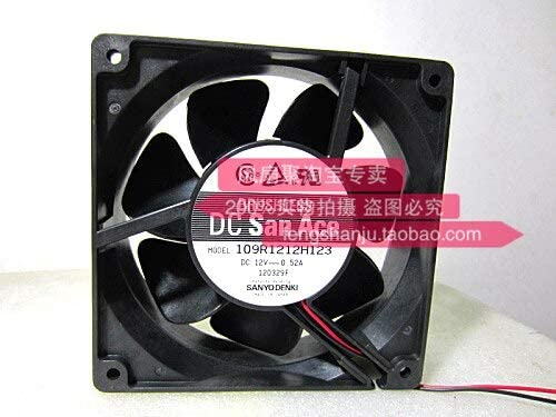 OOriginal Sanyo 109R1212H123 12V0.52A 12cm12038 double ball cooling fan