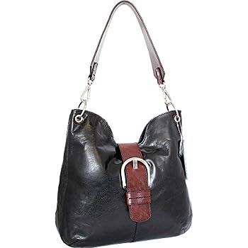d2976a0316 Amazon.com  Nino Bossi Hayley Hobo (Black)  Shoes