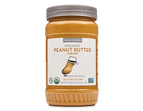 Prince & Spring Organic Peanut Butter Creamy 40 oz