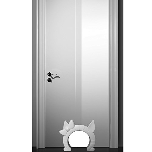 Interior Cat Door Plastic Pet Door For Large Cat Or Small Dog Keeps The  Dogs Out
