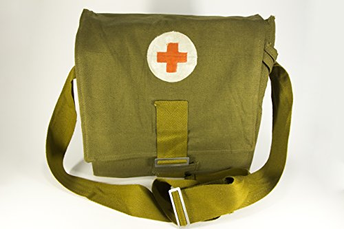 Tank Buddies 100 Tab (USSR Soviet Army Military Tablet Messenger Medical Bag Pouch Red Cross Case)