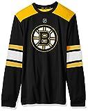 #7: NHL mens Silver L/S Jersey Tee