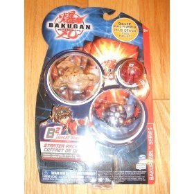 Bakupearl Starter Pack - Bakugan B2 Starter 3 Pack: Assorted Colors