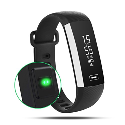AOKII Fitness Tracker Wireless Waterproof Activity Wristband Smart Bracelet with Sports Pedometer