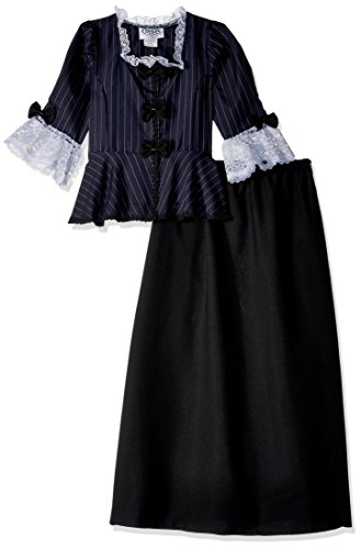 1912 Dress Costumes - Charades Child's Colonial Girl Costume Dress,