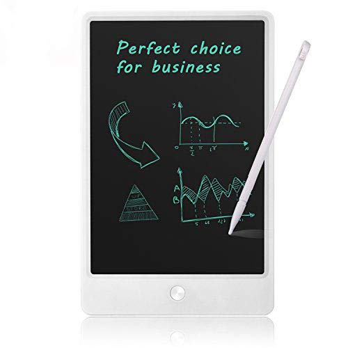 Note Pad LCD Writing Tablet - NEWYES NYWT105A - 10 Inch Office Memo Pad Electronic Note Book LCD Drawing board Graphic Drawing Tablet (White)