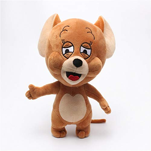 EXTOY 30Cm 12Inch Cartoon Tom Jerry Mouse Plush Toy Cute Hamster Animal Stuffed Plush Dolls Holiday Must Haves The Favourite Anime Superhero Classroom UNbox Me (Tom And Jerry Paws For A Holiday)