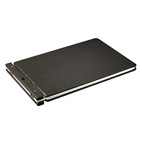 Wilson Jones Raven Vinyl-Guarded Post Binders, 2 inch Capacity, 11 x 17 inch Sheets for Accounting, Financial, Shipping, More (W241-65NA)