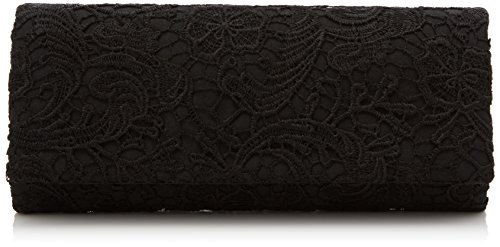 Lace Black Party Evening Clutch Bag Bag SWANKYSWANS Black Prom Womens Purse Satin Wedding Rachel Ladies Clutch 64wxBdq6