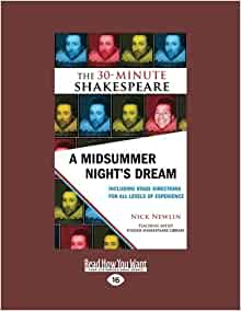 a review of scene 41 in midsummer nights dream by william shakespeare No, you'll see, four days will quickly turn into four nights and since we dream at  night, time passes quickly then finally the new moon, curved like a silver bow in .