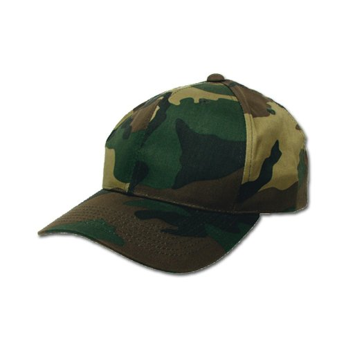 varias tallas Gorra única visera estilo color de Woodland Talla con talla caqui militar xwgpFq