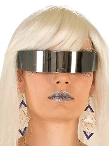 Futuristic Mirror Lens Wrap Around Glasses