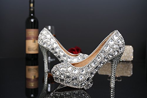 Plataforma Mujer Miyoopark Silver 12cm Heel d5aqqOgxYw