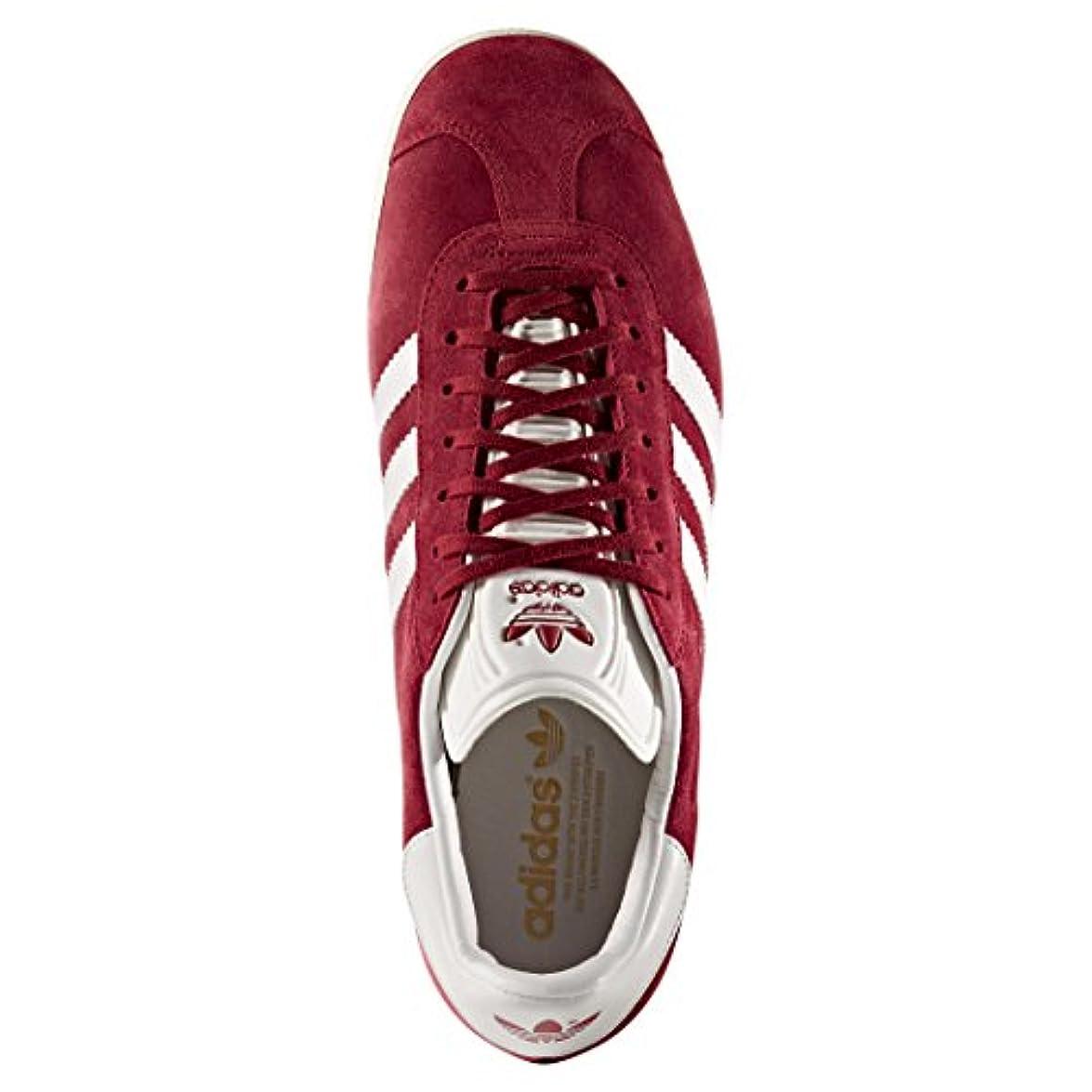 Adidas Originals Gazelle Collegiate Burgundy white gold Metallic