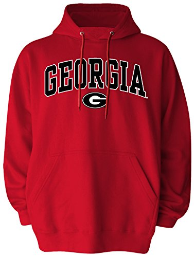 Old Varsity Brand NCAA Georgia Bulldogs Pullover Hood, Large, Red