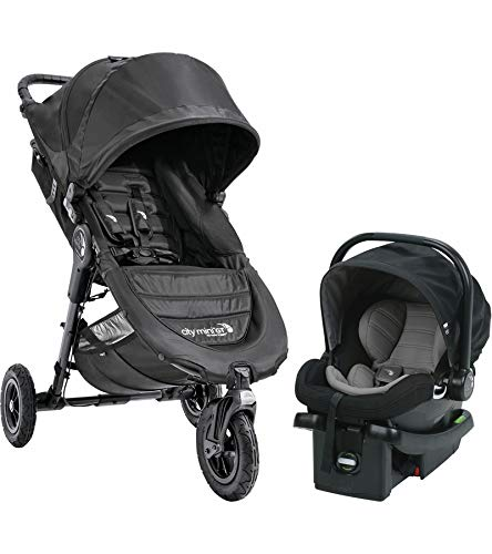 - Baby Jogger 2018 City Mini GT Travel System, Black