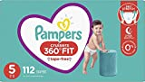 Diapers Size 5, 112 Count - Pampers Pull On
