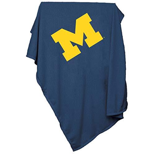 Blanket 54 Fleece Sweatshirt - NCAA Michigan Wolverines Sweatshirt blanket