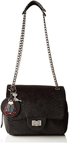Chain Velvet Side porté épaule Black Alix Sac Noir Lollipops wqUa5a