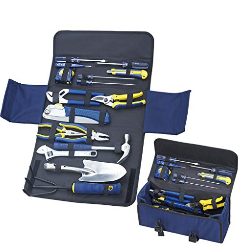 Zcx Luxury Combination Tool Oxford Bag Garden Tool Set Home Gardening Set Tool Durable Anti-Corrosion Multi-Tool Combination (Size : (355X125X160mm)) 160 Mm Soft Grip