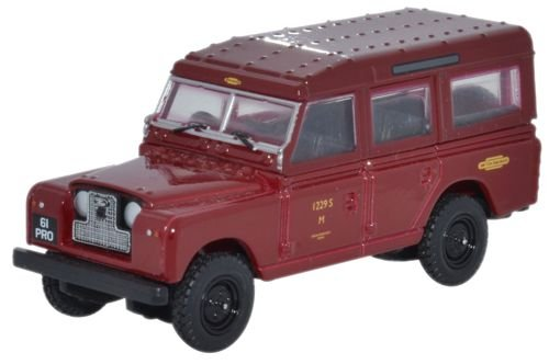 Oxford Diecast 1:76 Scale Land Rover Series II Station Wagon