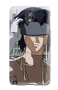 Tpu Case Cover For Galaxy Note 3 Strong Protect Case - Ghost In The Shell Design