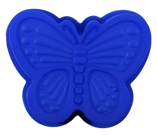 Butterfly 6 Inch Singles Silicone Pan for Cupcake, muffin, treats, ()