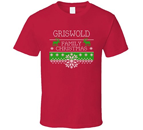 Christmas Vaction - Cool Funny Griswold National Lampoons Christmas Vaction T Shirt 3XL Red