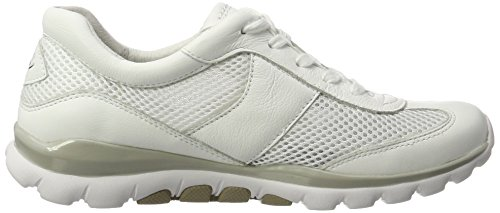 Gabor Shoes Rollingsoft, Zapatillas para Mujer Blanco (weiss 50)