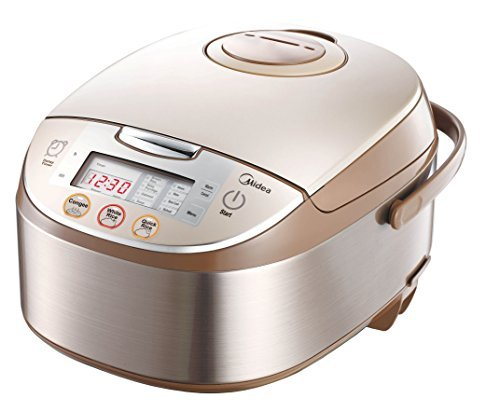 Midea 4017 12 Pre Set Multi Functional Energy Efficient Smart Rice Cooker with Automatic Keep Warm and Reheat Facility