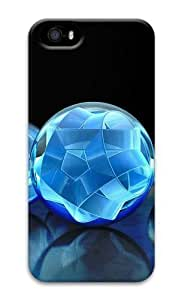 3D crystal sphere 3D Case new iphone 4s case for Apple iphone 4s