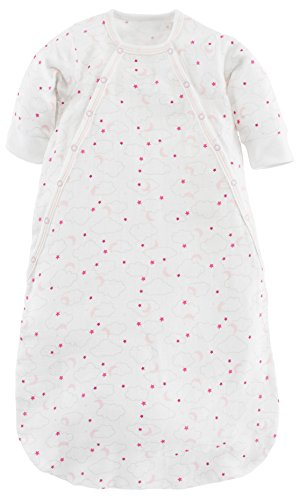 Under the Nile Baby Girl Muslin Bunting Pink Starry Night Print Organic Cotton (0-3m) by Under the Nile