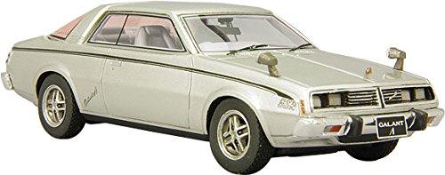 1/43 三菱 ギャラン ラムダ GSR 1976年 (シルバー) L43062