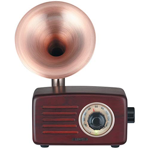 AIWA Bluetooth Speaker with FM Radio SB-FH20 (Brown Wood)【Japan Domestic Genuine Products】【Ships from Japan】