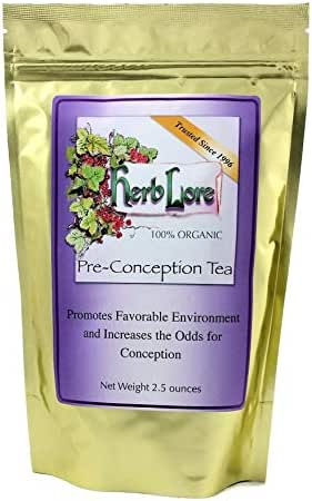 Fertility Tea for Women - 60 Cups - All Natural Preconception Fertility Supplement for Women - Fertility Herbs to Help You Get Pregnant - Herb Lore