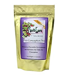 All Natural. Subtly Minty Tasting. Caffeine free. No additives or fillers. Non-GMO and gluten-free. Loose leaf tea comes in a resealable pouch. 60 cups per bag. 1 month supply. Natural fertility herbs help balance female reproductive hormones...