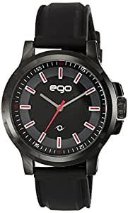 Ego by Maxima Analog Black Dial Men's Watch - E-01189PAGB