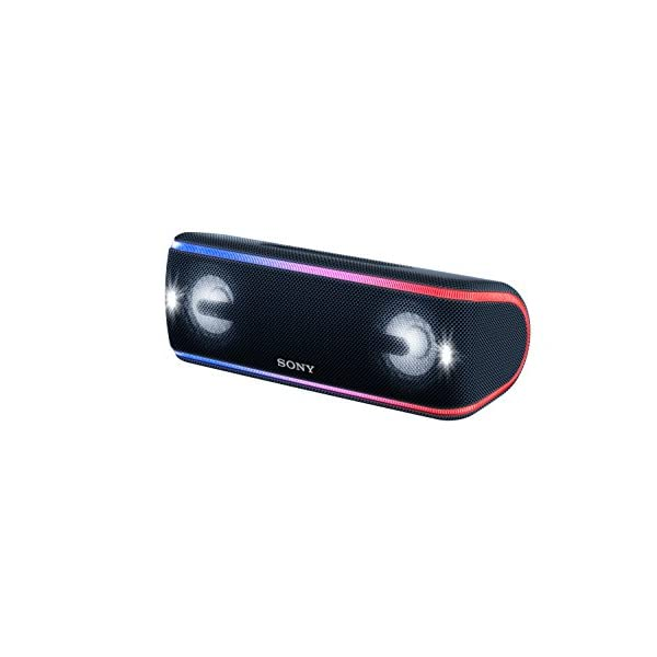 Sony SRS-XB41 Enceinte portable sans fil Bluetooth Waterproof avec effets lumière - Noir 4