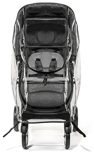 Weltru Premium Stroller Cover Weather Shield, Easy in/Out Zipper, Universal Size, Waterproof, Protects Against Wind, Rain, Snow, Insects by Weltru (Image #9)