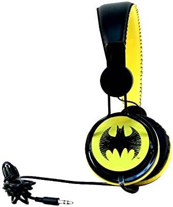 aminco Bioworld DC Comics On-Ear Batman Headphones