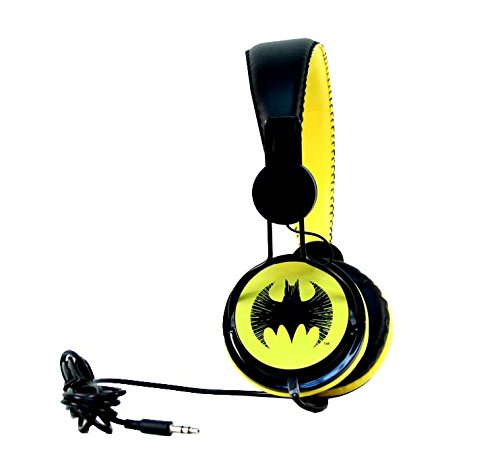 aminco Bioworld DC Comics On-Ear Batman Headphones]()